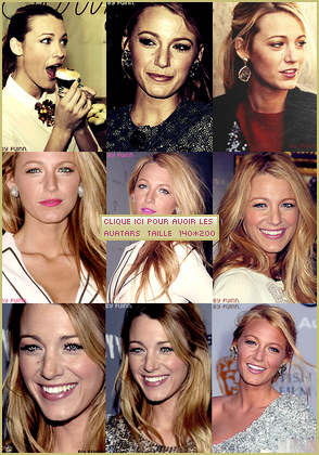 9 Avatars Blake Lively
