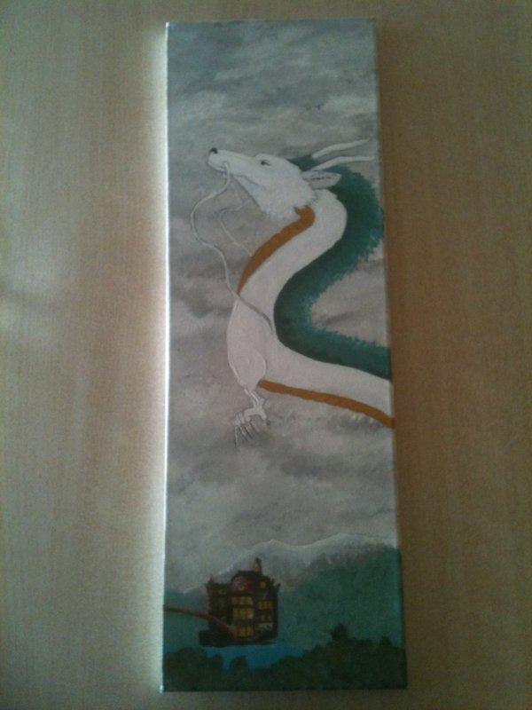 Haku (acrylique sur toile 60 x 20 cm)