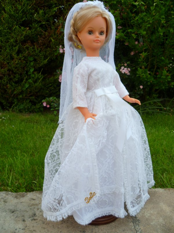 Cathie Tenue de Mariée 1969