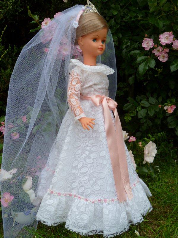 Cathie Tenue Mariée 1978