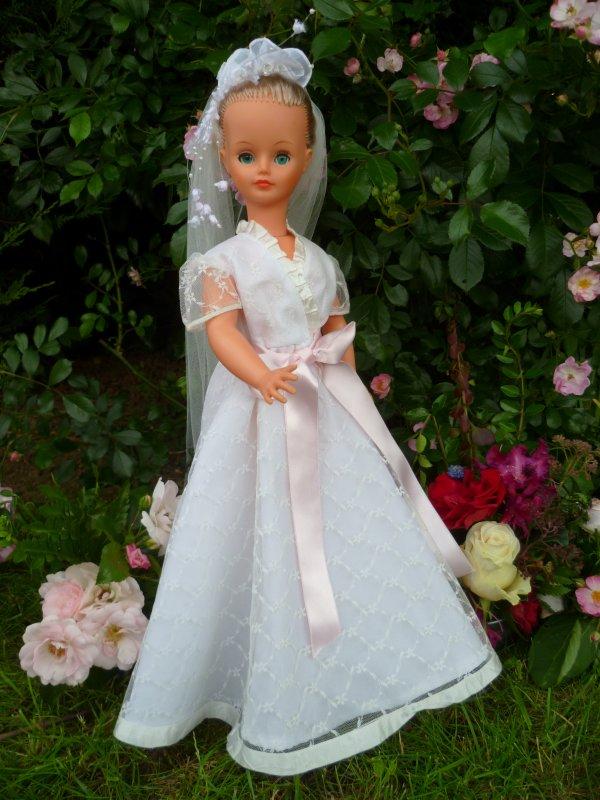 Cathie Tenue Mariée 1981 Tenue Diamant Hors Catalogue