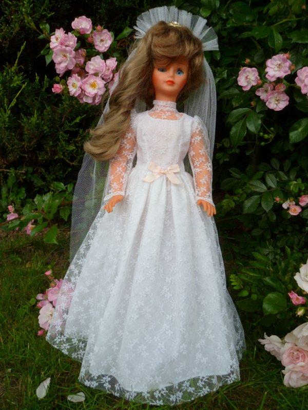 Cathie tenue Mariée  Nuptiale 1982
