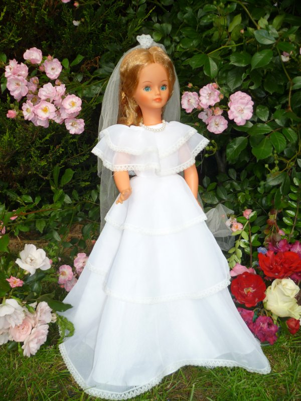 Cathie Tenue Mariée 1983