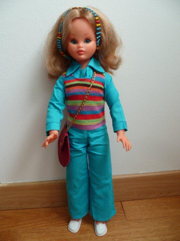 """Marion Bella tenue """"Prisunic"""" 1973"""