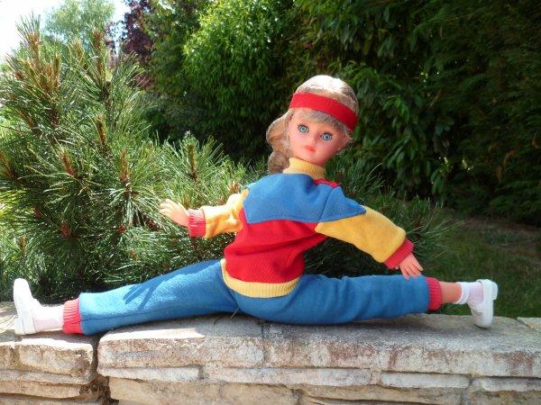 Cathie/Nathie tenue Jogging 1984