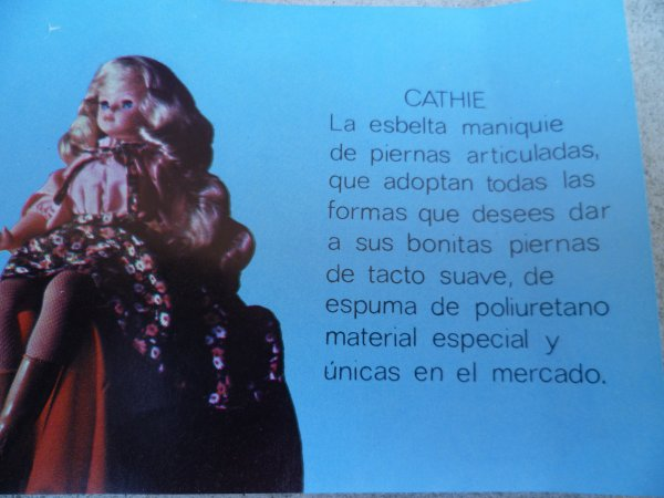 Catalogue Cathie Espagnole