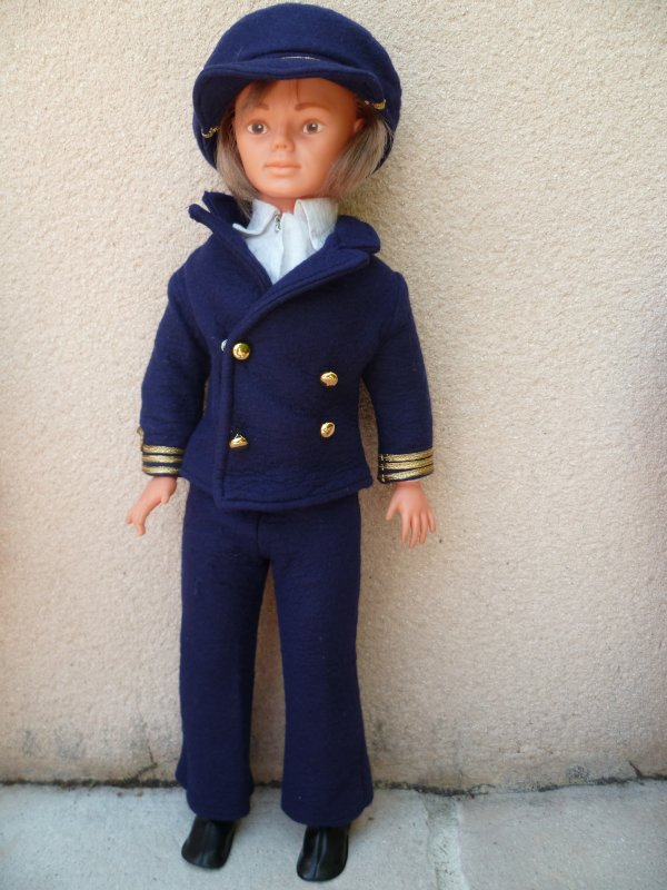 Jerry Tenue commandant de Bord 1974