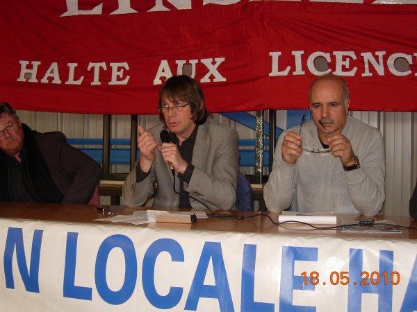 Bernard Thibault chez SCA : le projet du gouvernement sur les retraites «très mauvais»