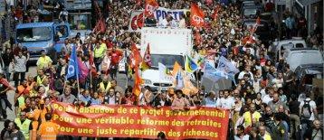 Forte mobilisation dans les rues de France contre la réforme des retraites