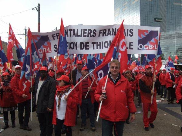 Enfin les deux syndicats BETTEMBOURG et la CGT sca linselles se sont rencontré