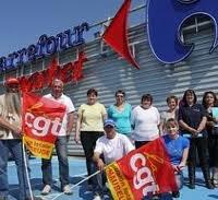 Pour la première fois, 100 % de grévistes au Carrefour d'Aubigny
