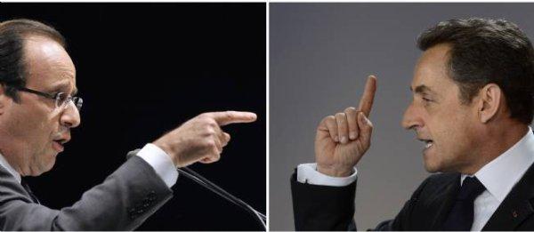 PRÉSIDENTIELLE - Sarkozy-Hollande, l'heure du face-à-face