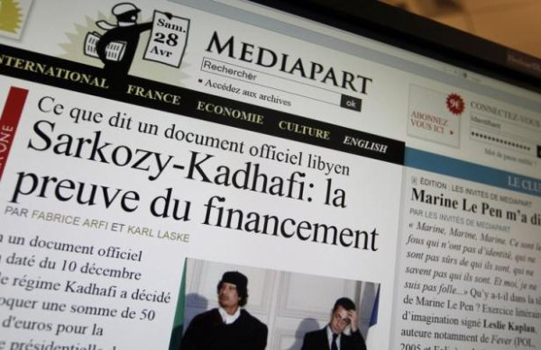 Financement libyen de la campagne de Sarkozy: Mediapart convoqué par la police