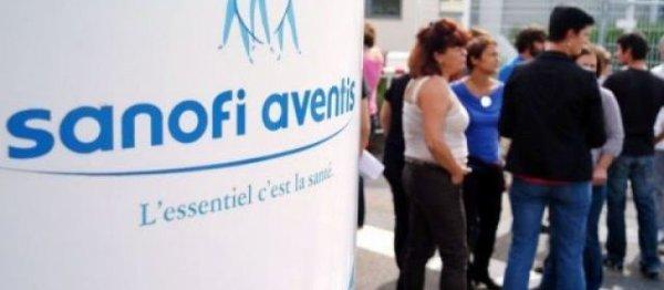 Sanofi : un millier de salariés défilent contre le plan social