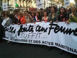 Manifestation d'ampleur contre les violences sexistes