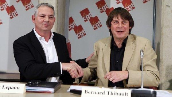 La CGT ouvre lundi à Toulouse son 50ème Congrès et confiera les rênes à Thierry Lepaon