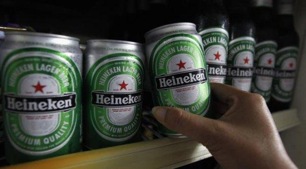 Heineken double Kronenbourg en France