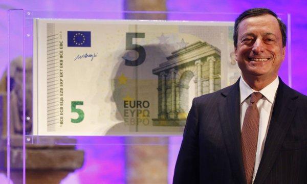 Le nouveau billet de 5 euros sera en circulation le 2 mai