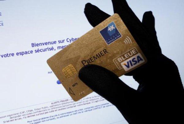 Cartes bancaires: la fraude en légère hausse