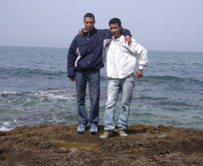 moi avec mon ami