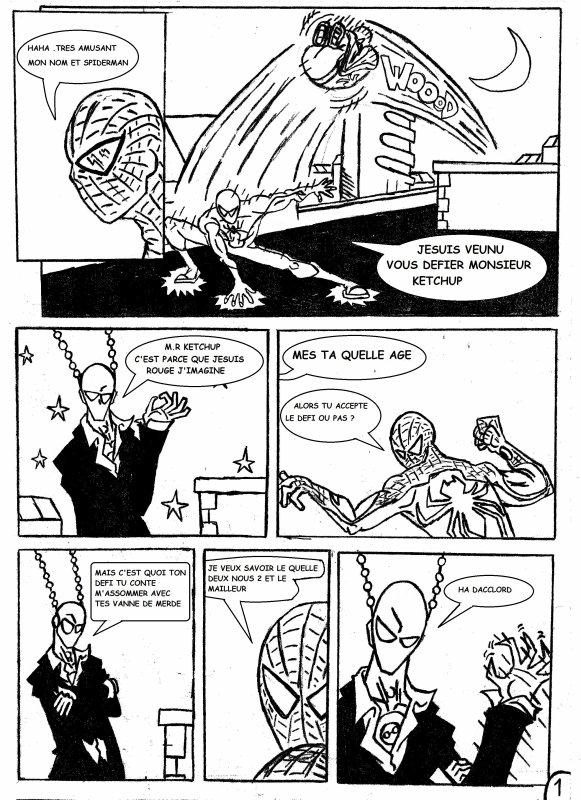 mini sketch spiderman vs galactik page 0 a 5
