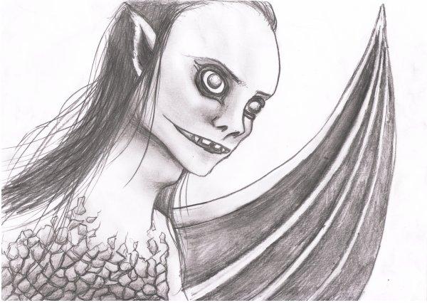 Blog de ekaki page 3 un coup de crayon - Dessin qui font peur ...
