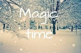 la neige...