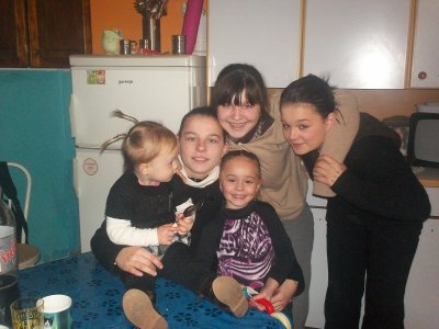 mes filles et petite filles
