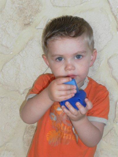 le pti boutchou lucas à 2 ans et demi