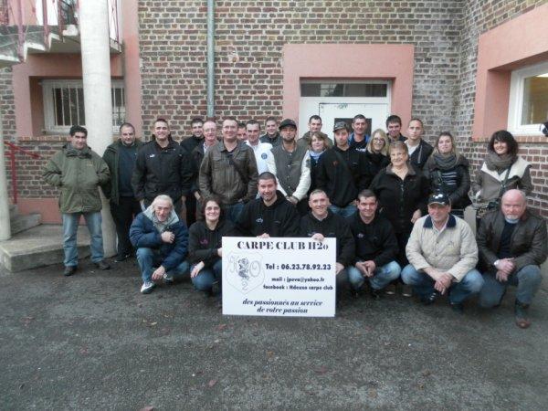 Assemblée générale du Carpe Club H²o : 01/12/2013