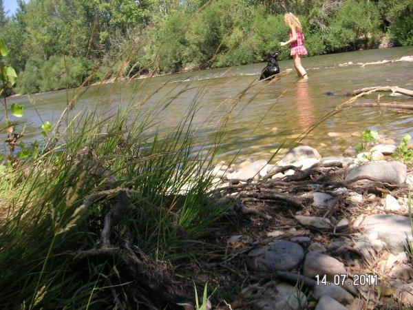 A la rivière ;)