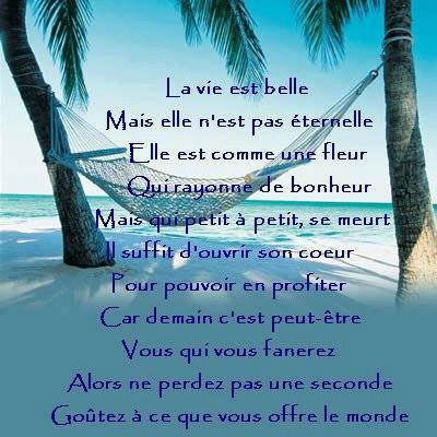 La Vie Est Belle ღ Blog Poèmes Citations