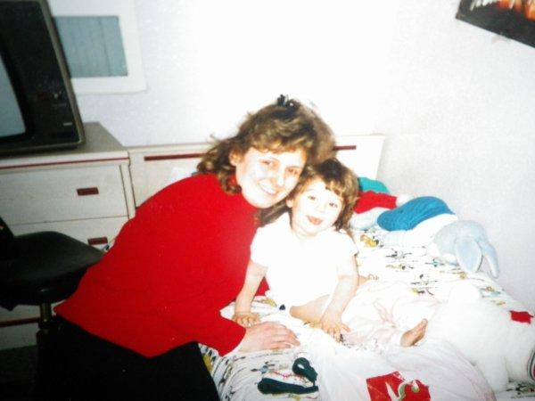 maman et moi petite =)