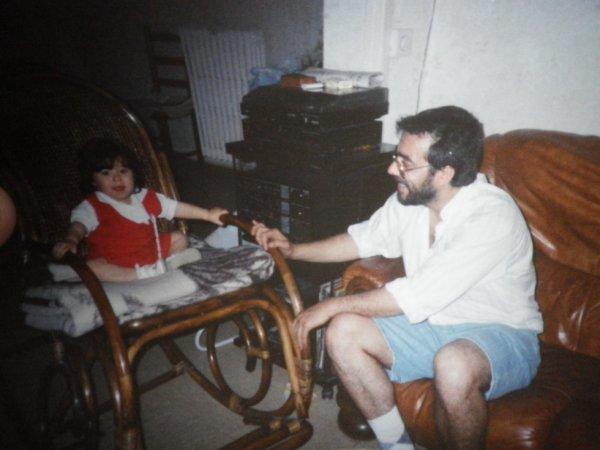 papa et moi petite