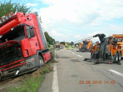 FRANCE -Strasbourg - Assistance Dépannage Sopredi Scherwilder - Autocars PL