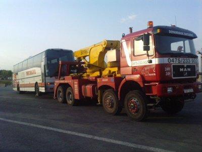 Belgique - Dépannage Bayards - Verviers - Assistance Technique sur routes - Autocars