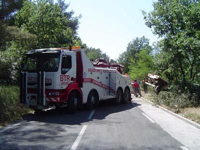 France - BTR - Bartelemy Frères - Assistance 24/24 h . Gardanne