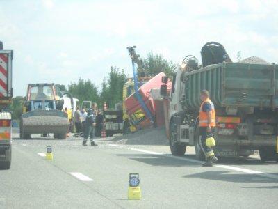 Belgique - Bossart Brugelette - Assistance sur route A8 Tournai Bruxelles