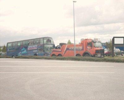 Belgique - Mahieu - Accident Autocars - Assistance sur route longue distance - international - France