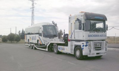 Autocars Dépannage SANCHIDRIAN Auto Gruas 40400 El Espinar - Segovia - Espagne
