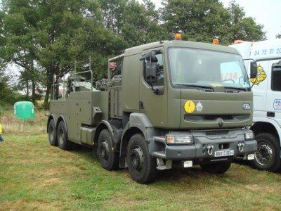 Belgique - Armée, dépannage assistance sur route