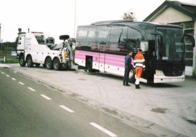 Belgique - France - CASSART  Dépannage - Autocars double étage - à 5081 La Bruyère