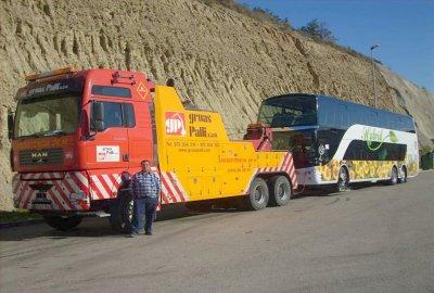 Espagne - Gruas Palli - Dépannage et Assistance sur route - Rapatriement