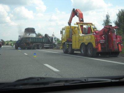 Belgique - Bossart Brugelette - Assistance - accident - A8 - Dergneau RN60  - Frasnes-lez-Anvaing - Hacquegnies