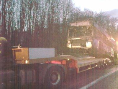 France -  Dépanneur38 - Assistance autocars - Isère - autoroute A43