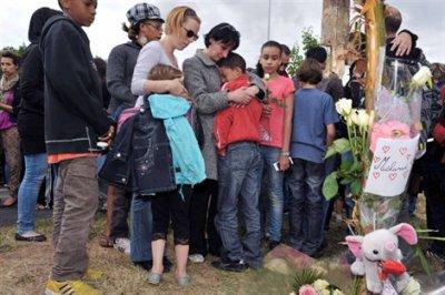 30-05-2011 - France - Indre et Loire -Accident grave un Fourgon tue Mélanie 10 ans à Joué-lès-Tours
