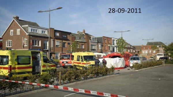 28-09-2011 - Belgique - Willebroek 2830 - Un enfant de 8 ans écrasé par son bus Chaussée de Termonde - 28/09/2011