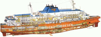 06-03-1987 - Herald of Free Enterprise - Zeebrugge - Accident - Naufrage - Belgique -