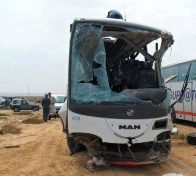 16-11-2011 - Maroc - Settat - Deux autocars se percutent 16/11/2011 - Autocars Accidents - de Nabiquo - 2012