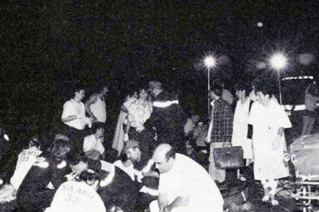 31-07-1982 - 31 juillet 2012 - 30 ans - France - Beaune - Bourgogne - Grave accident d'autocars nuit du 30 au 31 juillet 1982 - 53 Dcd dont 44 enfants brûlés